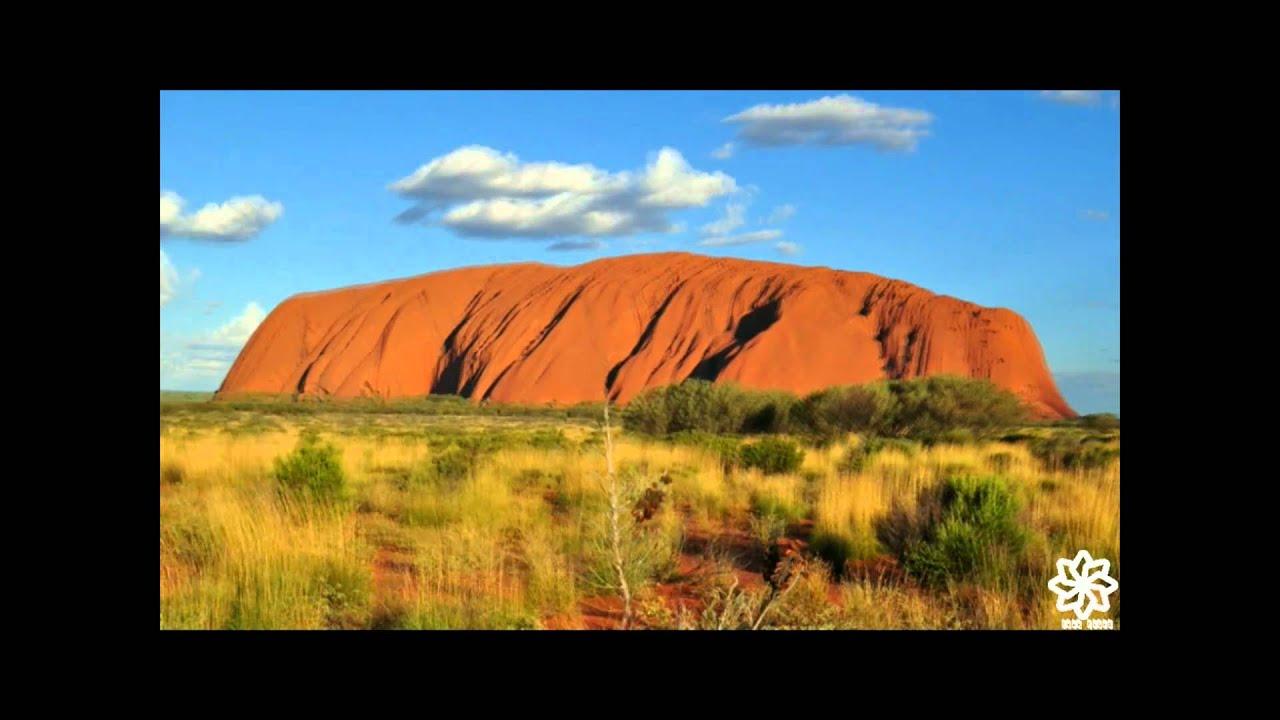 Colour Changing Uluru - YouTube