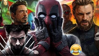 Deadpool Makes Fun of Logan and Avengers - Ryan Reynolds Funny - 2017