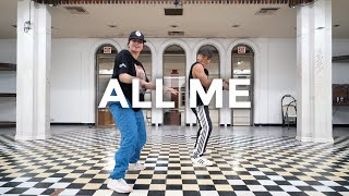 All Me - Kehlani Feat. Keyshia Cole (Dance Video) | @besperon Choreography