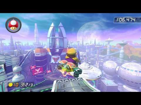 Mute City - 1:48.691 - エル (Mario Kart 8 World Record)