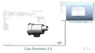 CREO vs. PRO/Engineer - битва гигантов. Ленточный интерфейс