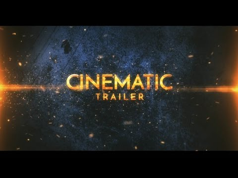 Cinematic Epic Trailer | After Effects template