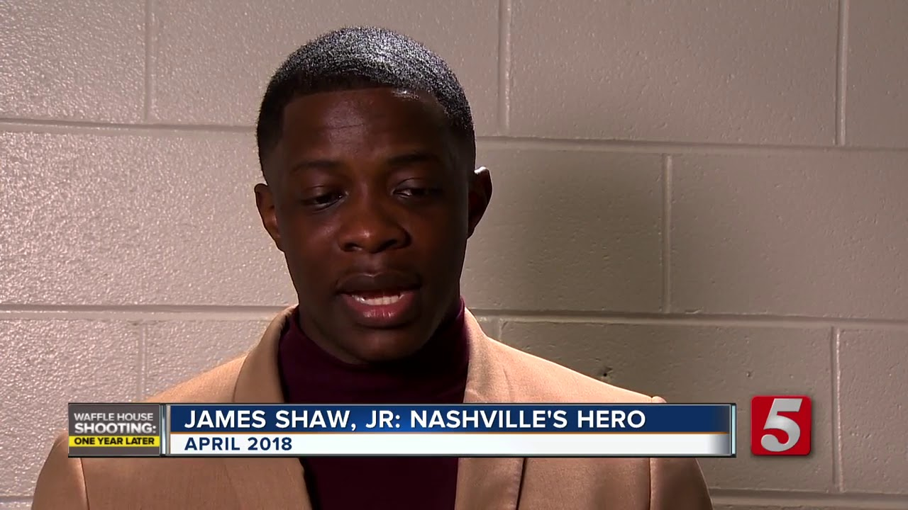 James Shaw Jr.: The hero, survivor and advocate ONE YEAR AFTER WAFFLE HOUSE MASSACRE