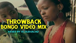 THROWBACK BONGO VIDEO MIX 2021 - DJ OLEMACHO FT ALIKIBA  DIAMOND  MARLAW (OLD SCHOOL BONGO MIX 2021)
