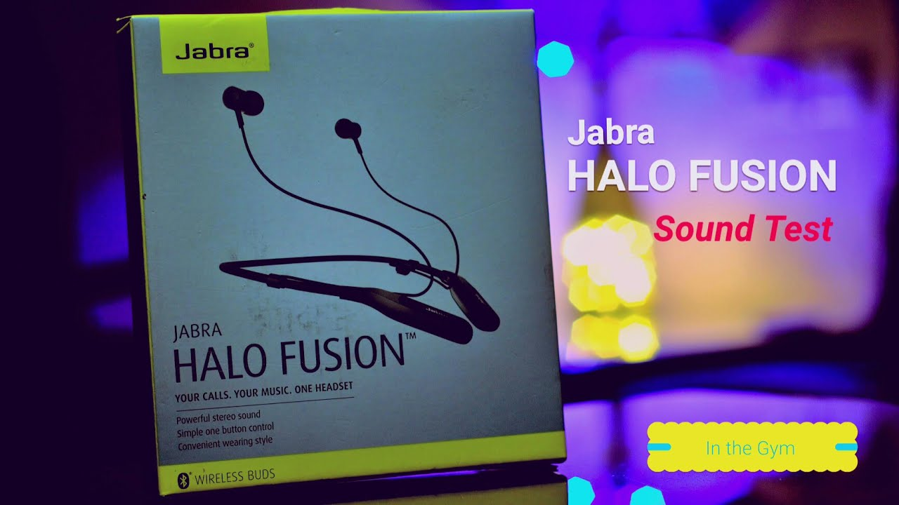 355a8810323 Jabra halo fusion (Real life) Sound Test in the Gym - YouTube