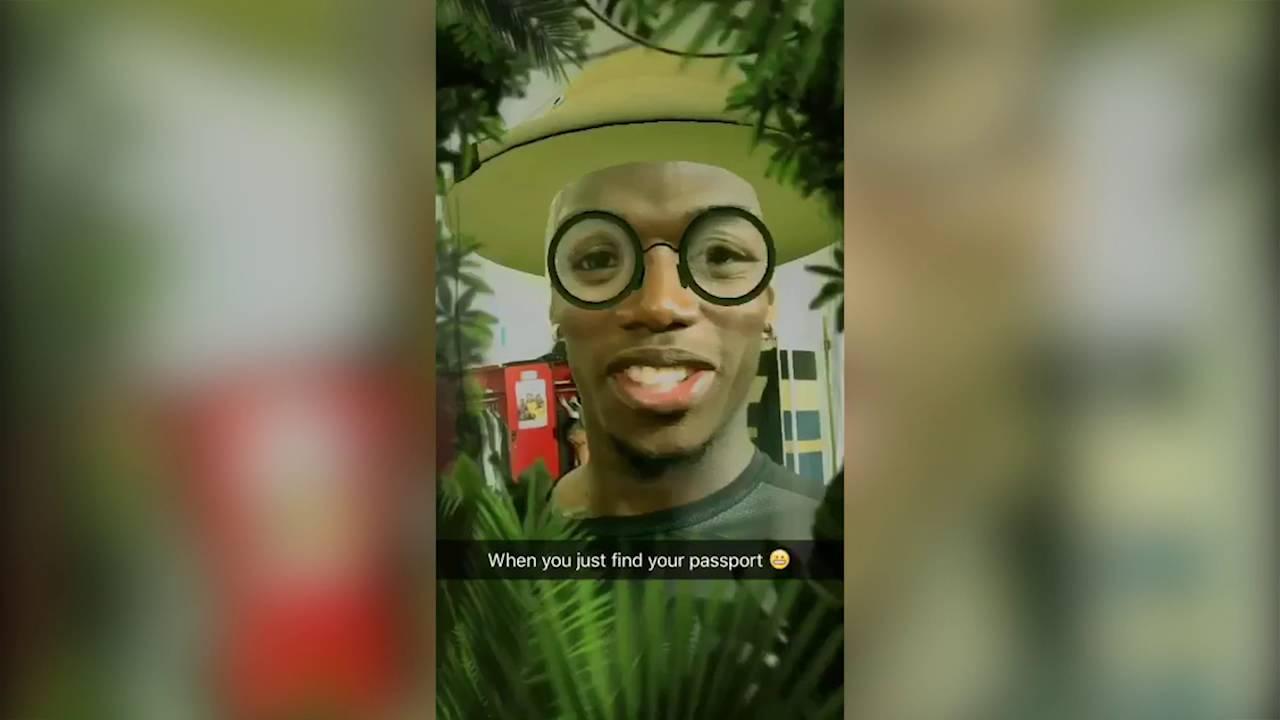 Paul Pogba Snapchat