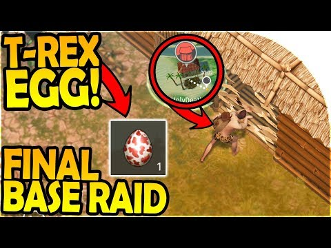 T REX EGG + THE FINAL BASE RAID - Last Day on Earth Jurassic Survival Gameplay