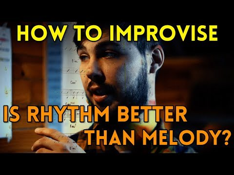#1 How To Improvise: Using Rhythms From The Greats (Analysis + Exercise)