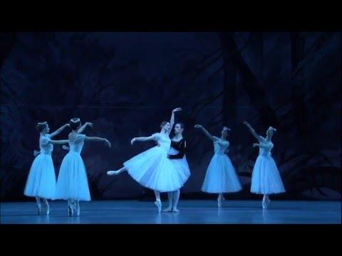 "BOLSHOI BALLET LIVE | 2015–16 | ""Giselle"" | Adagio Giselle i Alberta z 2. aktu (Zacharowa, Połunin)"