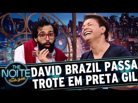 David Brazil e Wellington Belém ligam para Preta Gil   The Noite (12/04/17)