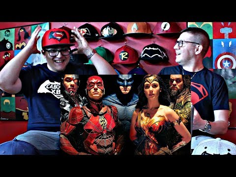 Justice League - TRAILER 2 REACTION!