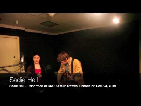 Sadie Hell at CKCU-FM on December 24, 2009