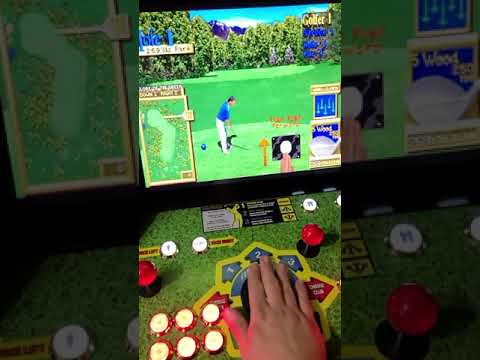 arcade1up golden tee 12000 games from J M Arcades