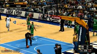 NBA 2K13 Gameplay Celtics Vs Nuggets