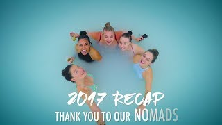 2017 RECAP - a Thank You to our Nomads!