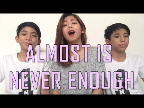 Almost is never enough cover- Anja Aguilar with Urquico twins