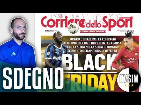 Corriere dello Sport fa indignare il mondo col titolo razzista ||| Extra Avsim