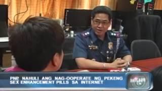 [Balitaan] PNP nahuli ang nag-ooperate ng pekeng sex enhancement pills sa internet [02|13|14]