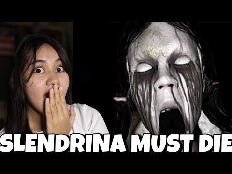 Playing Y8 Horror Game: Slendrina Must Die by Stefanie Venturanza   Philippines