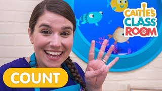 Practice Counting with 10 Little Fishies!