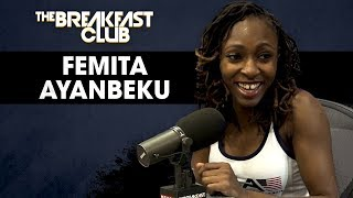 Paralympic Athlete Femita Ayanbeku Describes Her Journey To The Olympics After Losing Her Leg