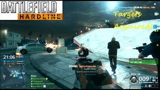 Battlefield Hardline PS3 Multiplayer - Targets Acquired!