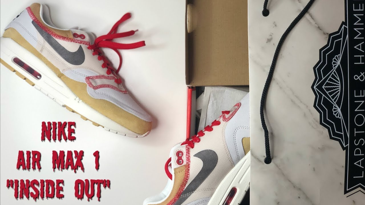 NIKE AIR MAX 1 INSIDE OUT PACK REVIEW \u0026
