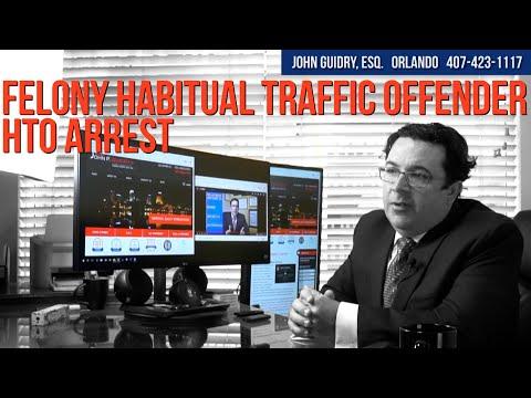 Felony Habitual Traffic Offender HTO Arrest