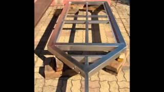 Vidéo de fabrication d'une remorque multi-usage