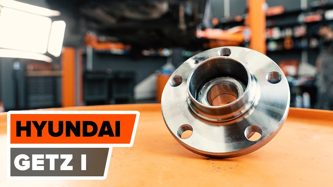 2016 Hyundai Santa Fe >> How to replace rear wheel bearing on HYUNDAI GETZ 1 ...
