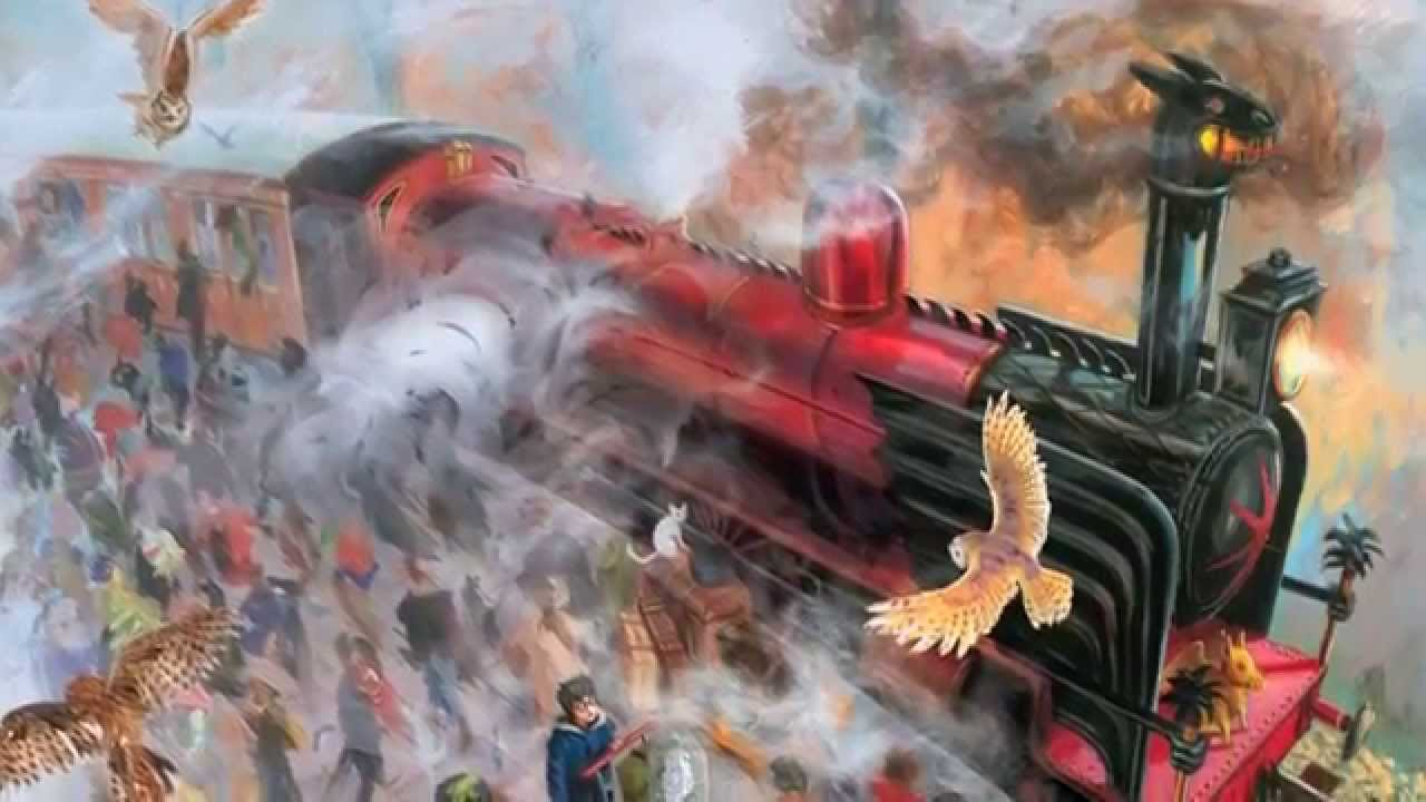 Très Jim Kay on the Illustrated Edition of HARRY POTTER AND THE  LM81
