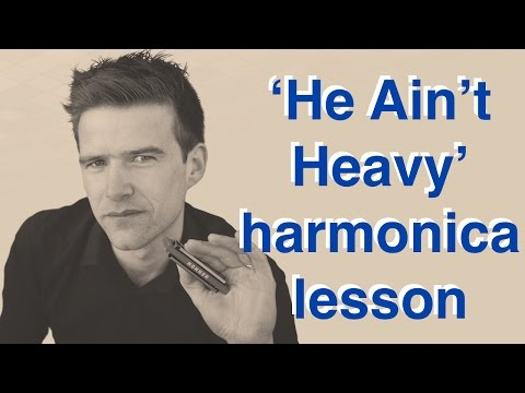 He Ain't Heavy, He's My Brother - Harmonica introduction and solo + TAB