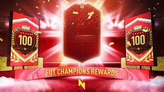 TOP 100 FUT CHAMPS REWARDS! - FIFA 20 Ultimate Team