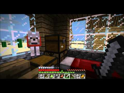 Minecraft Tornado Mod Survival Part 21: Visiting Tornado Villiage