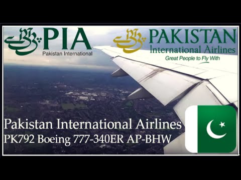 ✈FLIGHT REPORT✈️ Pakistan International Airlines Birmingham-Islamabad PK792 Boeing 777-340ER AP-BHW