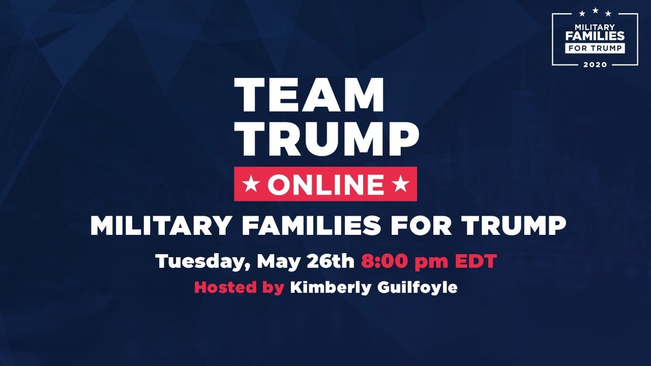 WATCH: Military Families for Trump with Kimberly Guilfoyle, Kelli Hake, and Joe Kent!