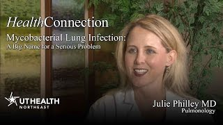 Mycobacterial Lung Infection: A Big Name for a Serious Problem - Dr. Julie Philley