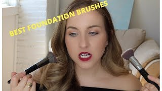 Favourite Foundation Brushes for Every Foundation