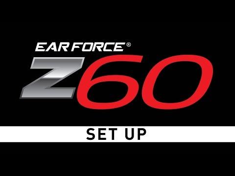 Turtle Beach Ear Force Z60 PC Gaming Headset Setup