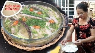 Làm bánh canh bột gao dẻo đơn giản - ngon hết sẩy với cá kèo #namviet