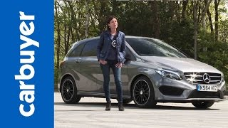 Mercedes B-Class hatchback - Carbuyer(BMW 1 Series hatchback review: http://bit.ly/1LhcppJ Subscribe to the Carbuyer YouTube channel: http://bit.ly/17k4fct Subscribe to Auto Express: ..., 2015-05-26T10:01:03.000Z)
