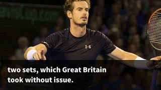 2015 Davis Cup final results: Andy Murray, Jamie Murray give Great Britain crucial lead on Day 2 -