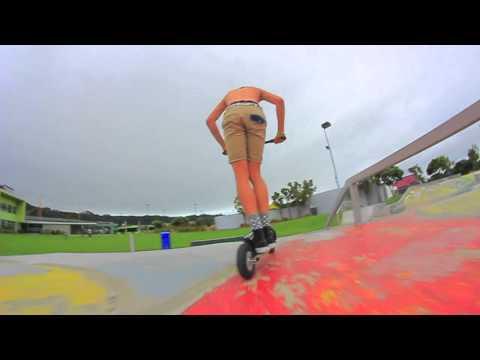 Immanuel Cross   ' Grit dirt scooter '