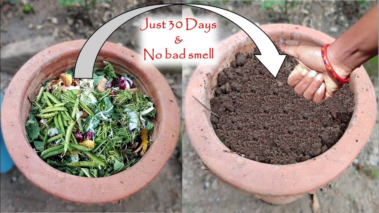 How to make COMPOST at home with kitchen & garden waste: कम्पोस्ट बनाएं घर पर