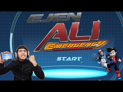 Pertama Kali: Ejen Ali Emergency Game Review Level 1 to 10