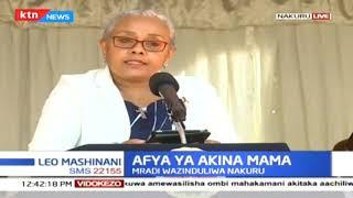 Mama Margaret Kenyatta azindua mradi ya Linda Mama