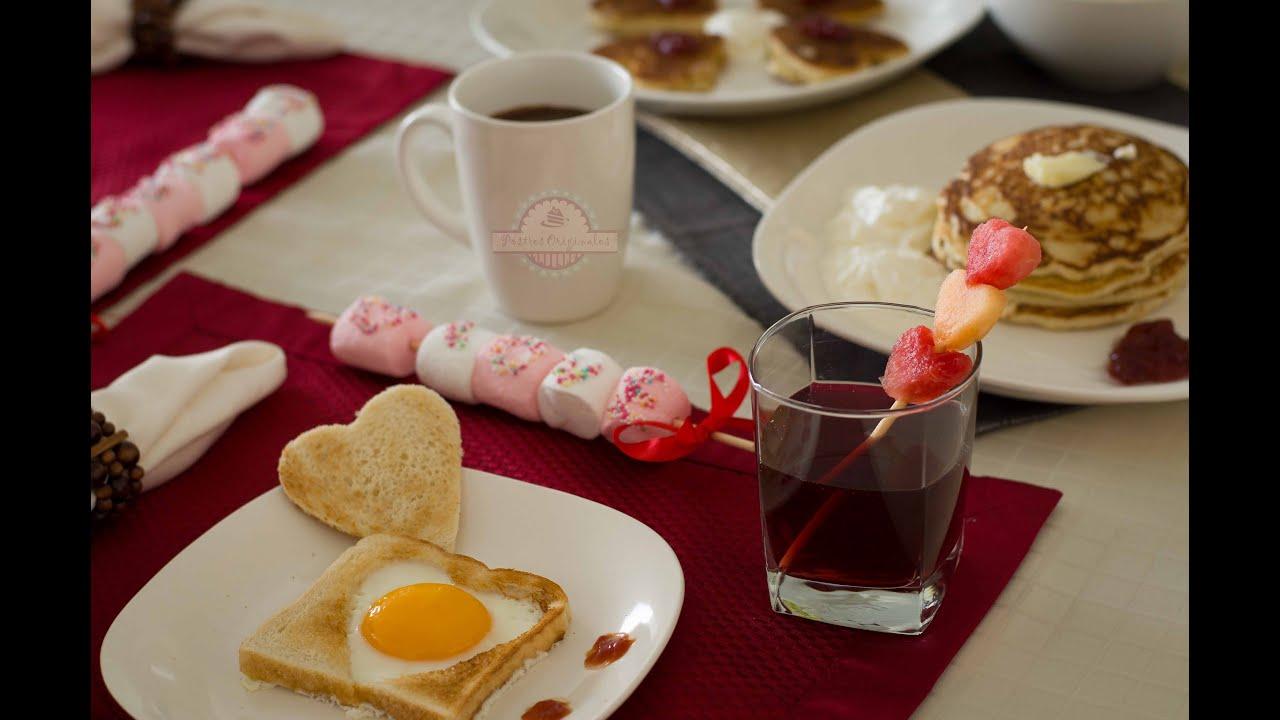 Desayuno rom ntico desayuno para enamorar youtube - Sorpresas para enamorados ...
