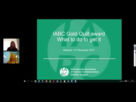 Gold Quill Awards – how to present an award-winning campaign