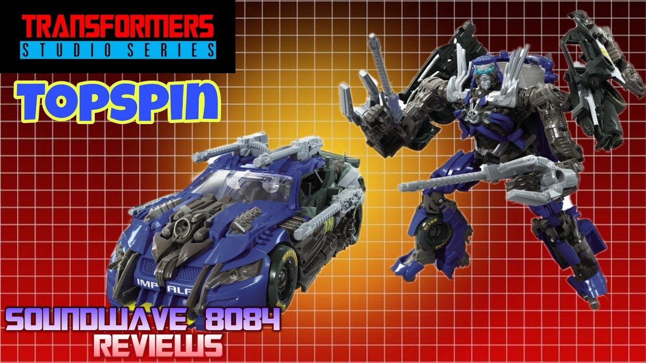 Transformers Studio Series 63 Topspin Review