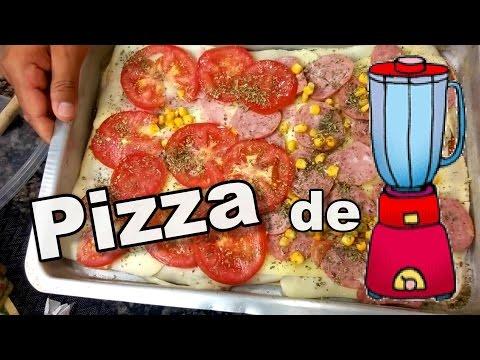 Pizza de Liquidificador - Rápido, Fácil e Barato